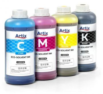 Новые экосольвентные чернила Artix для широкоформатной печати